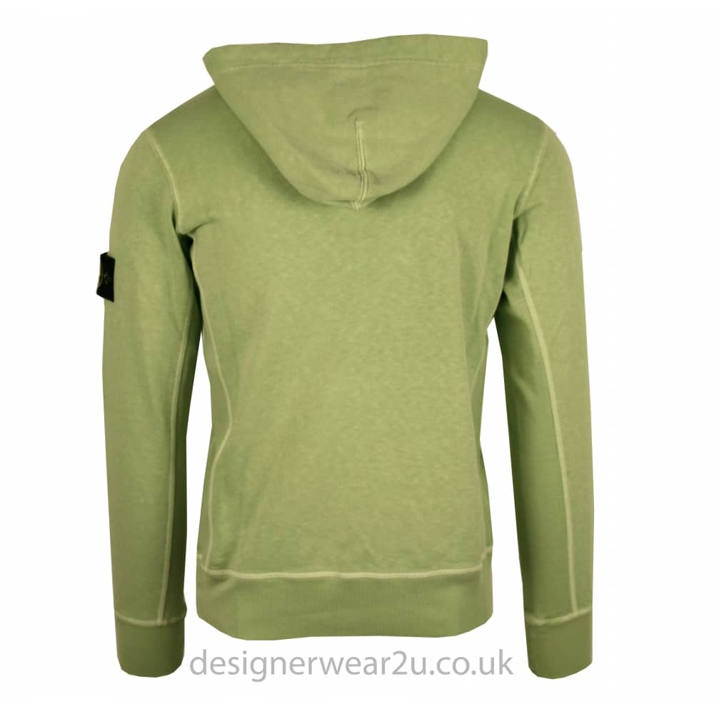 c9d2586d1 S.Island Stone Island Green Pull Over Hooded Sweatshirt ...