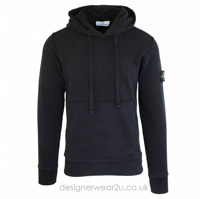 Stone Island Stone Island Hooded Sweatshirt in Black