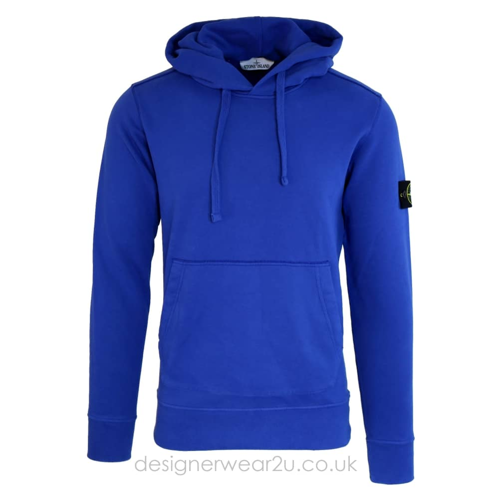S Island Stone Island Hooded Sweatshirt In Blue