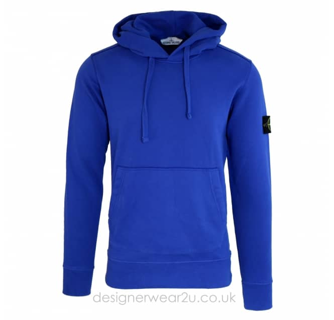 Stone Island Stone Island Hooded Sweatshirt in Blue
