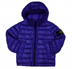 Stone Island Junior Blue Padded Jacket