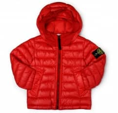 Stone Island Junior Red Padded Jacket
