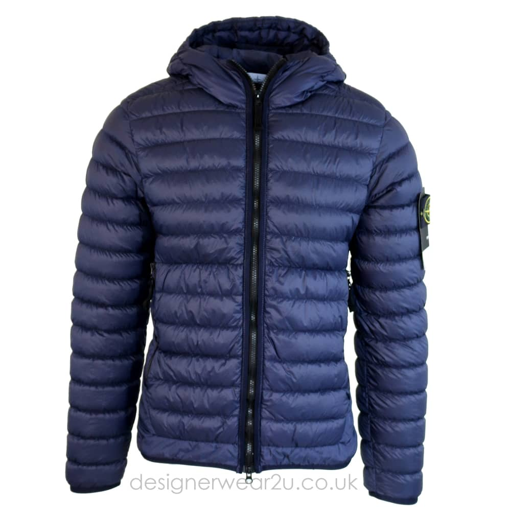 sale online best wholesaler wholesale price S.Island Stone Island Narrow Puffa Jacket in Navy - Jackets from ...