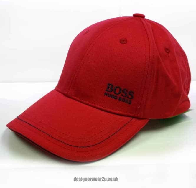 2a564ebe757 Hugo Boss ugo Boss Red Cap With Small Logo - Holiday Shop from ...