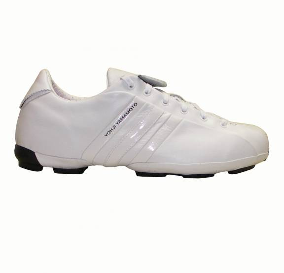29ffc58c77661 Y-3 Y3 Plain White Field Trainer - Footwear from DesignerWear2U UK