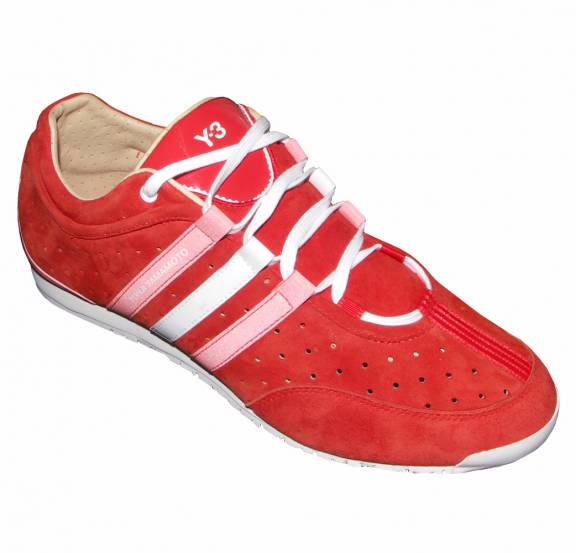 pretty nice dbc93 d465e Y3 Red Suede Boxing Trainers