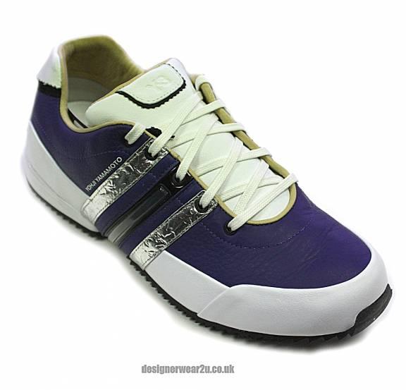 dea57efc543c Y-3 Y3 Blue Sprint Trainers D66185 - Footwear from DesignerWear2U UK