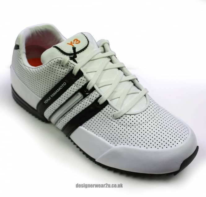 save off 53600 87fcc Y3 White Classic Sprint 2 Trainers